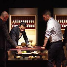 B Architecture, Milan Furniture, O Design, Luxury Kitchens, Kitchen Interior, Meal, Island, Board, Food
