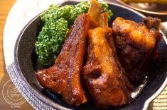お肉ホロホロ~♡これが本当のスペアリブ! | 移行のお知らせ Home Recipes, Asian Recipes, Cooking Recipes, Home Food, Asian Cooking, Japanese Food, Bon Appetit, Food Pictures, Chicken Wings