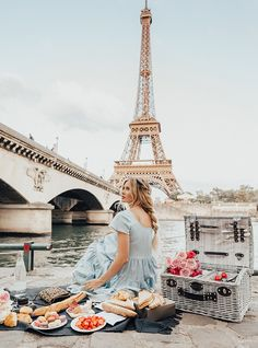 """Audrey Hepburn once said, """"Paris is always a good idea."""" We couldn't agree more, that is why we made Paris our second official stop on our first ever Barefoot B"""