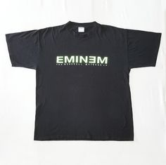 Vintage 2000 EMINEM The Marshall Mathers LP T-Shirt for Sale! $99 Free Shipping! please dm #vintage #90s #2000s #eminem #themarshallmathers #lp #rememberme #hiphop #rap #rapper #american #usa #raptees #rare #tee #shirt #black #large