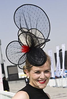 Dubai World Cup 2013 - Vivienne Morgan Millinery (worn by Angela Beitz)