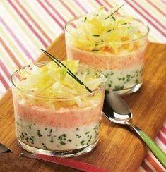 Gourmandises de fées: Verrines de saumon fumé au fromage frais