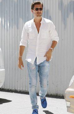 Scott Disick Fashion Style