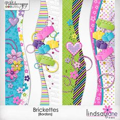 Brickettes Borders