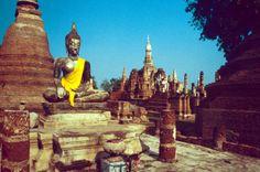 Sukhothai Thailand | Der Wat Maha Tat in Sukhothai