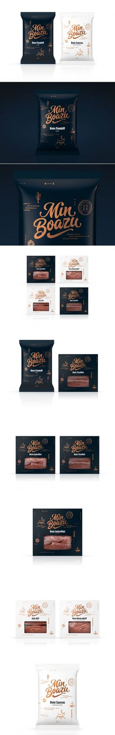 Reindeer Meat Never Looked So Good - Check Out This Packaging for Min Boazu — The Dieline | Packaging & Branding Design & Innovation News