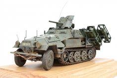 """Sd.Kfz.251/10 AUSF B """"Hanomag"""" — Каропка.ру — стендовые модели, военная миниатюра"""