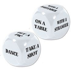 21st Bday Dice, make my own!!!