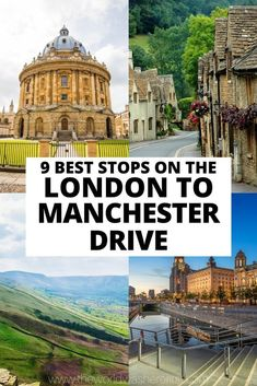 Looking for the perfect English road trip? You can't go wrong with driving from London to Manchester! This drive takes you through charming villages, beautiful countryside and thriving cities allowing for the perfect bucket list trip to England! Nottingham Castle, London Manchester, Day Trips From London, Perfect English, Natural Scenery, Ireland Travel, Viera, Where To Go, Birmingham