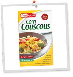 Corn couscous