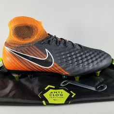 reputable site 0ec92 59158 Nike Shoes   Nike Magista Obra 2 Elite Sg-Pro Ac Soccer Cleats   Color   Black Orange   Size  10.5