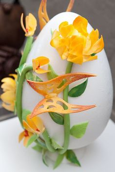 'Spring in Bloom' Egg in our EGGstravaganza Holiday Display at the JW Marriott Los Angeles L.A. LIVE