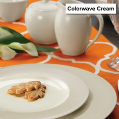 Colorwave Cream is now retired, and remaining items are 50% off! http://noritakechina.com/colorwave-cream.html #noritake #dinnerware #tablescapes #sale #colorwave