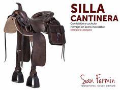 ¿Ya conoces nuestra #SillaCantinera? Especialmente cómoda y con un gran diseño tradicional para todos tus paseos a caballo. #SillasSanFermin #Colombia #Caballos #Caballistas #Cabalgata