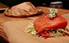 Salmon en Papillote (Salmon in Parchment Paper)