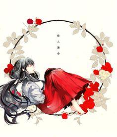 Kikyo from *Inuyasha*