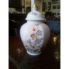 Kaiser Alice designer Nossek german porcelain Vase