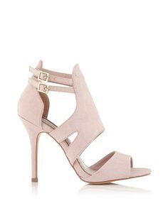 Ivy nude & silver-tone crystal heels Sale - Miss KG Sale | Shoes ...