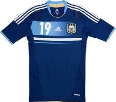 Argentina (Asociación del Fútbol Argentino) - 2011 Copa América Adidas Away Shirt