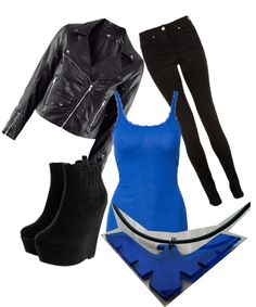 """DC Comic Nightwing inspired"" by jodie-burson on Polyvore"
