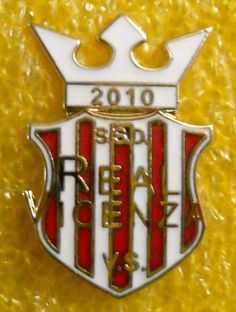 DISTINTIVO SPILLA PIN BADGE S.S.D. REAL VICENZA CALCIO
