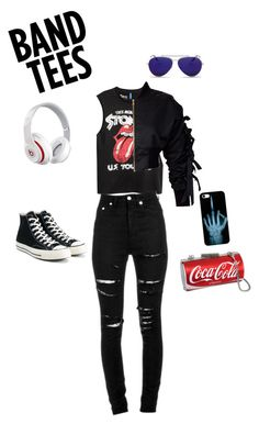 """Kiss"" by djurik-lea on Polyvore featuring storets, Yves Saint Laurent, Converse, Alexander McQueen and Beats by Dr. Dre"
