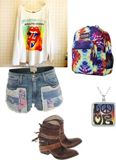 """""""hippie"""" by ximenaloveonedirection ❤ liked on Polyvore"""