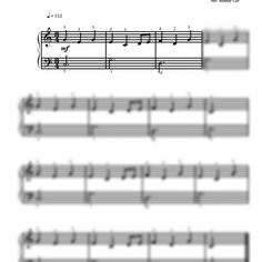 Oranges and Lemons - Nursery Rhymes - Easy Piano Sheet Music for Beginners / Piano Notion