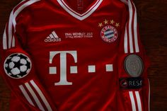 Jersey Bayern Munchen Manga Larga Final Champions League - $ 2,300.00 en MercadoLibre