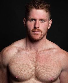 One of the hottest men I've ever seen! Love me a handsome, built red head ; Hairy Hunks, Hairy Men, Hot Ginger Men, Ginger Guys, Ginger Ale, Redhead Men, Scruffy Men, Handsome Guys, Handsome Faces
