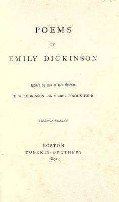 Poems of Emily Dickinson discussion questions Emily Dickinson Poems, Enrichment Activities, American Poets, Teacher Resources, Lesson Plans, My Books, Poetry, How To Plan, This Or That Questions