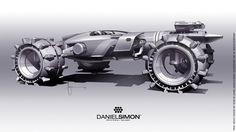 Concept cars and trucks: Tron Legacy Light Runner by Daniel Simon