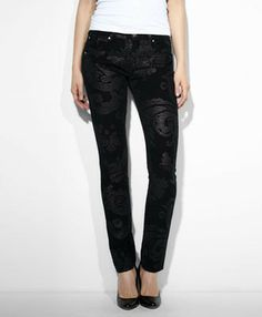 Ene though I'm anti-skinny jeans, I do love this material! Modern Rise Demi Curve Skinny Jeans//