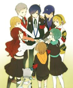 Some people say that the Persona 3 cast aren't as much friends compared to the Persona 4 cast.  They just don't get it.