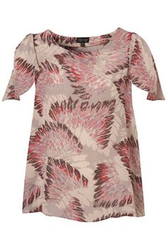 Feather print - Top Shop