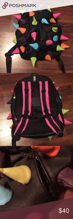 Brand new mad pax backpack This is a brand new full size mad PAC backpack and is in perfect condition. Made of pvc material. NOT unif brand but inspired by the unif style. UNIF Bags Backpacks
