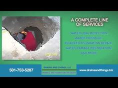 Leak Detection North Little Rock Arkansas - Drains And Things