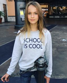 Today is the end of the beautiful 3 days long weekend ❤️ School tomorrow ✏️ I love school a lot , you can tell by looking at the writing on my sweatshirt  from @mumofsix_kids #mumofsix #kristinapimenova @stellaaminova @fivekids.ru  for all who hate school - I'm very lucky  to belong to Las Virgenes Unified School District , it's a school paradise for real