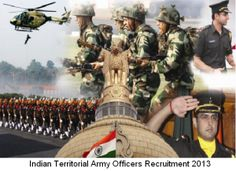 Join Indian Territorial Army (TA) Officers Recruitment December 2013. Details of vacancies, application procedure, and selection procedure, written exam to be held on 09-02-2014 are given here. at http://cdsexam.com/indian-territorial-army-ta-officers-recruitment-2013/