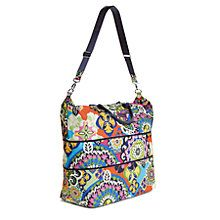 Lighten Up Expandable Travel Bag in Midnight Paisley | Vera Bradley