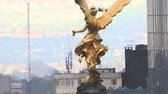 Avenida Reforma y Ángel de la Independencia desde el Castillo de Chapult...