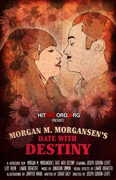 A very delightful Movie Poster    Design and illustration by Liz Degen for a wonderful short film by my lovely brother in law and his darling Sarah. If only everyday love looked this sweet.