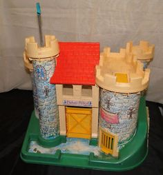 This Fisher Price Little People Castle was awesome. I loved it. It had secret passages and everything.