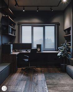 Small room design – Home Decor Interior Designs Home Room Design, Small Room Design, Home Office Design, House Design, Design Homes, Design Bedroom, Home Office Setup, Home Office Space, Desk Setup