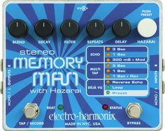 a pretty interesting and very versatile delay. with so many options to choose from on it you shouldn't get bored easily. my personal favourite is the reverse setting.