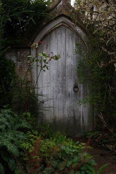 through the Garden door...