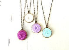 Hey, I found this really awesome Etsy listing at https://www.etsy.com/listing/173668789/personalized-initial-necklace-custom