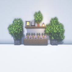 Diy Minecraft, Plants, House, Decorating Rooms, Decorations, Hacks, Home, Plant, Homes