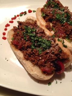 In-House Cook:   Bison ChiliChili Dogs It took me three years to ...