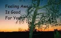 Feeling Awe Is Good For You